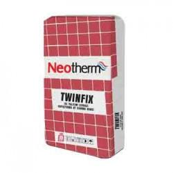 Neotherm Twinfix Isı Yalıtım Levhası Yapıştırma ve Sıvama Harcı(elyaflı)